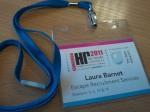 HR Network Conference Badge | Laura Barnet