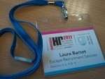HR Network Conference Badge | Laura Barnet