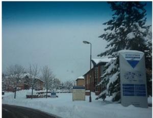 Escape Recruitment's Office in the Snow 2010