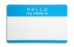 Hello my name is....
