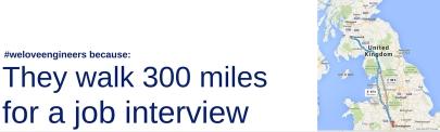 walk 300 miles