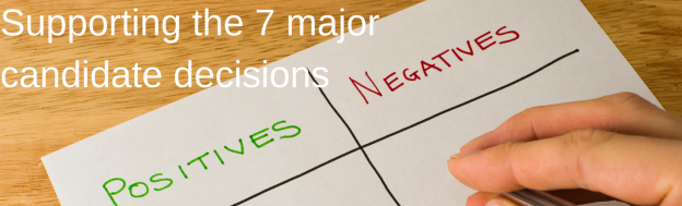 positive negative decision list