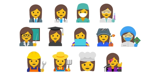 proposed female emojis